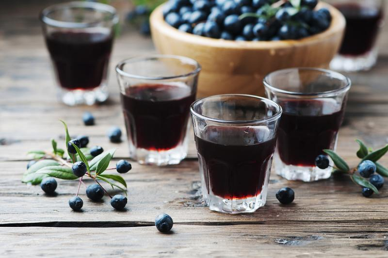 mirto - Sardinian liqueur